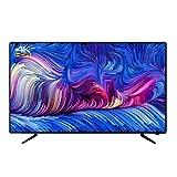 CFYP Smart TV LED 4K Ultraligero, Delgado, HDMI Incorporado, USB, Televisor de Pantalla Plana de Alta Resolución - Frecuencia de Actualización 60Hz