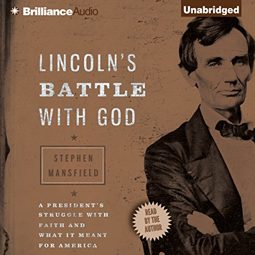 Lincoln's Battle with God audiobook cover art