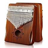 Byla Kalimba 21 Key Mahogany Thumb piano Musical Instruments Africa Finger piano Brown Mbira Calimba Instrumento Music Machine
