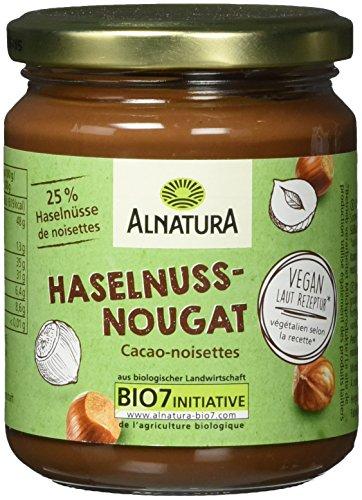Alnatura Bio Haselnuss Nougat Creme, 6er Pack (6 x 250 g)