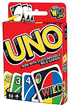 Mattel Games UNO Card Game Customizable with Wild Cards