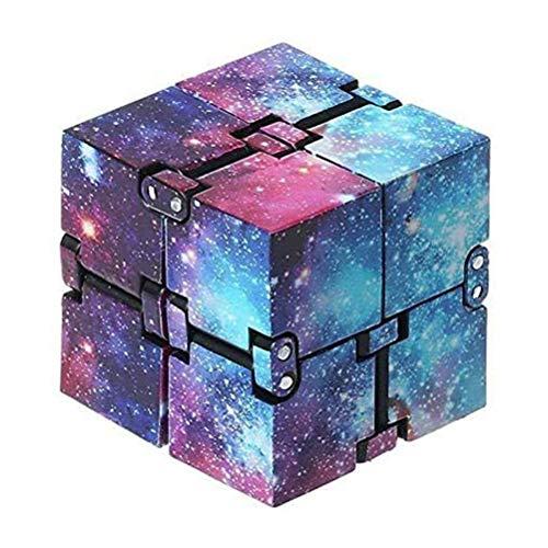 Unendlichkeitswürfel, Infinity Cube Fidget Toys Kinder Und Erwachsene, Stress Und Angst Relief Cool Hand Mini Kill Time Spielzeug Unendlicher Cube Lernspielzeug Zappelblöcke Für Erwachsene und Kinder