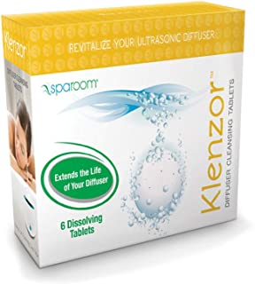 SpaRoom Klenzor Diffuser Cleaning Tablets, 0.10 Pound