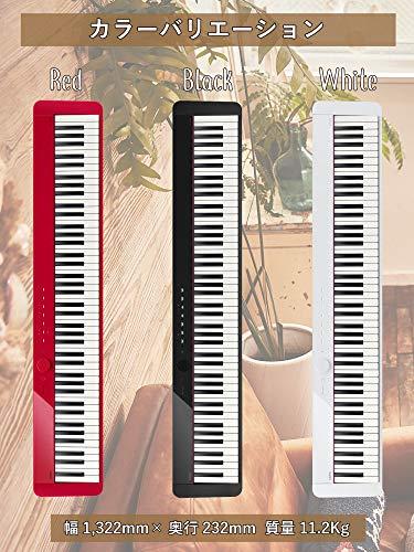 カシオ(CASIO)PriviaPX-S1000BK(ブラック)88鍵盤電子ピアノデザイン性と高いピアノ性能で人気Bluetoothスピーカーとして使用可能