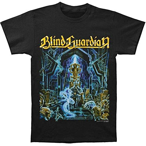 Mlsker Blind Guardian Men39;S Nightfall In Middle Earth T-Shirt Black(Size:S
