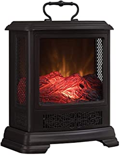 Duraflame Electric DFS-7515-02 Fireplace Stove Heater, Bronze