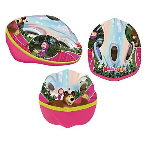 MASHA E ORSO Cartoons Casco Disney Easy Modello Taglia 52/56 s/m