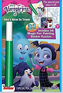 Disney Vampirina Magic Ink Color Book