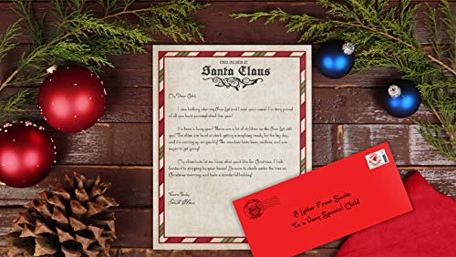 Letter from Santa Claus- Letter from The North Pole