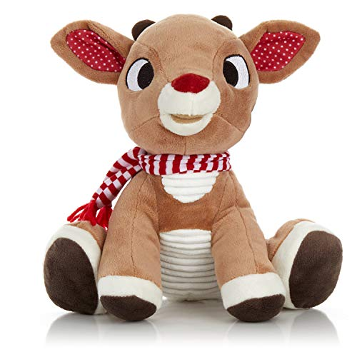 Rudolph the Red - Nosed Reindeer - Stuffed Animal Plush Toy