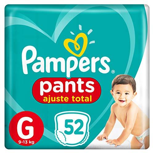 Fralda Pampers Pants Ajuste Total G 52 Unidades, Pampers