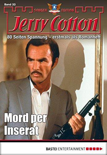 Jerry Cotton Sonder-Edition - Folge 33: Mord per Inserat