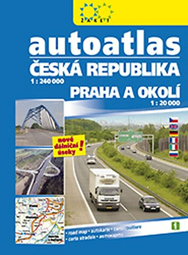 Autoatlas ČR + Praha 1:240 000 (2016)