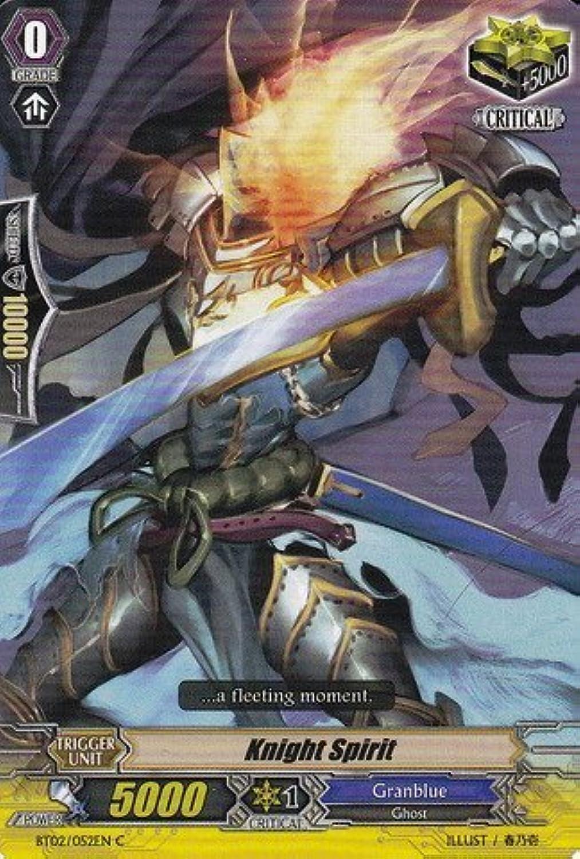Cardfight   Vanguard TCG - Knight Spirit (BT02 052EN) - Onslaught of Dragon Souls by Bushiroad Inc. B00TT8DZRE Vollständige Spezifikation  | eine breite Palette von Produkten