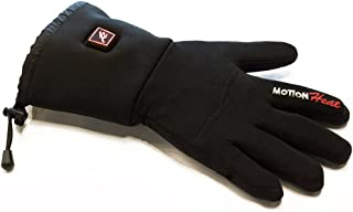 MOTIONHeat Glove Liners with Two Rechargeable 12v Batteries Heated for Men and Women, Warm Gloves for Cycling Motorcycle Hiking Skiing Mountaineering - Hottest Glove On The Market (LARGE)
