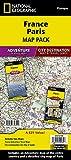 France, Paris [Map Pack Bundle] (National Geographic Adventure Map)
