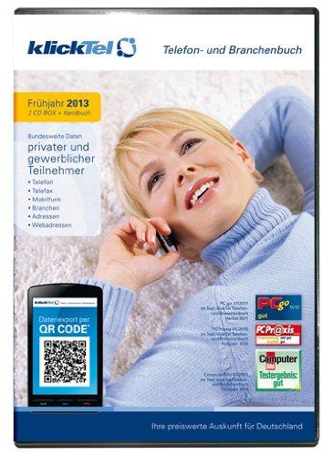 klickTel Telefon- und Branchenbuch Frühjahr 2013