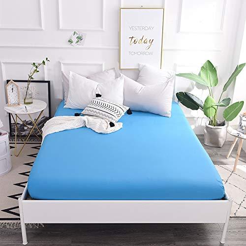Xiaomizi Lujoso cojín inferior y dobladillo elástico que se adapta a tu cama hipoalergénica: 200 x 220 cm