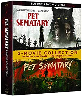Pet Sematary 2019/1989 2 Movie Collection
