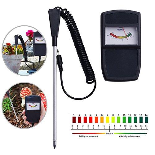 Alftek bodemvochtigheidsmeter, pH-meetinstrument-testapparaat voor boerderij-planten, bloemen, groenten