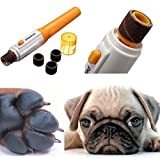 Pets Empire Grinder Clipper Nail Toe Trimmer Pet Dog Cat Electric Grooming Scissors Tool Care by petpedicure