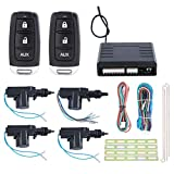 EASYGUARD cl13-rt0107 Central Door Locking System keyless Entry with 4 actuators 1 Master 3 Slaves DC12V