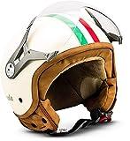 "SOXON® SP-325 ""Imola"" · Jet-Helm · Motorrad-Helm Roller-Helm Scooter-Helm Moped Mofa-Helm..."