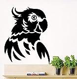 Tianpengyuanshuai Kunst entfernbare Papagei Vogel Wandtattoo Vinyl Papagei Wandaufkleber Tier...
