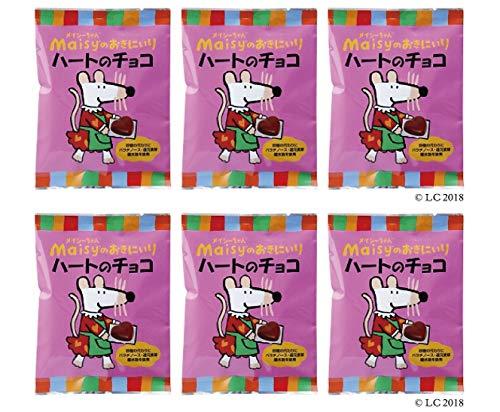 メイシーちゃん(TM)のおきにいり ハートのチョコ (5g×8個入り)×6個 ★ コンパクト★ 対象年齢(目安):3才頃から。★北海道産ミルクを使用した、ひとくちサイズのハート形ミルクチョコ。砂糖の代わりにパラチノース・還元麦芽糖水飴を使っています。個包装