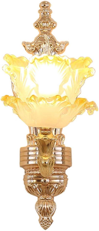 GosQ LED Wandleuchte für den Innenbereich Wandleuchte für den Auenbereich wasserdicht sauber einfach und sauber für Flure,Auen- und Schlafzimmerbeleuchtung geeignet - optionale Glühbirnen