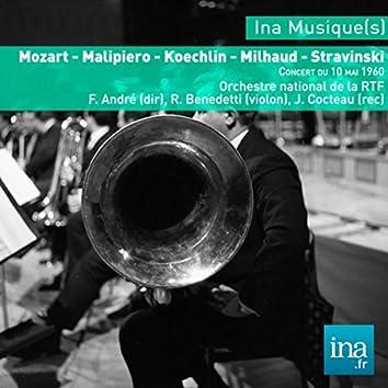 Mozart - Malipiero - Koechlin - Milhaud - Stravinski