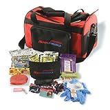 Ready America 77150 Small Dog Evacuation Kit,Red/Black