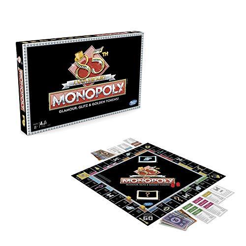 Monopoly - Juego del 85 aniversario, incluye 8 fichas de oro