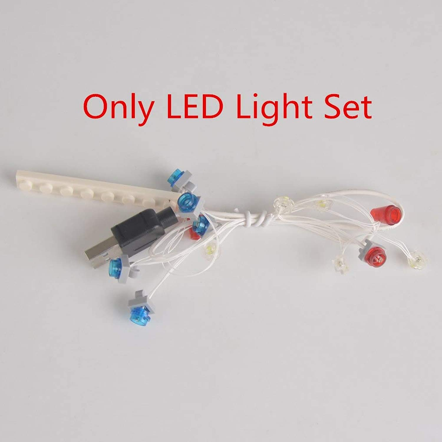 Generic Joy MAGS LED Light Up Kit Kit for Ghostbusters Ecto1 Light Set Compatible with 21108(NOT Include Model) LED Light Set