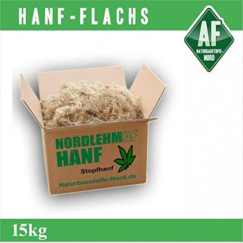 Bioformtex Stopfhanf 15 kg Hanffasern