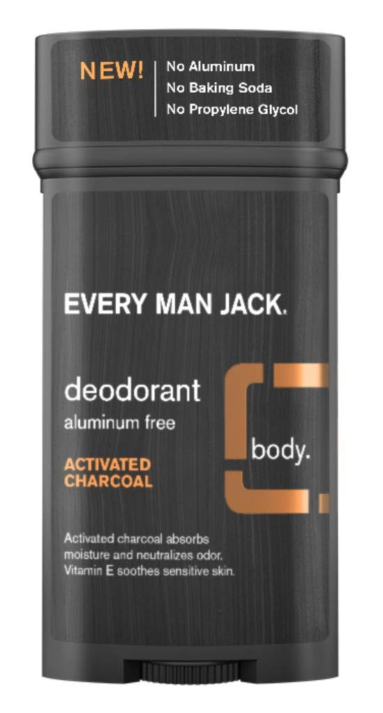 Every Man Jack Deodorant 2.7 Activated Charcoal Same day shipping 6 Pack Sale SALE% OFF Ounce