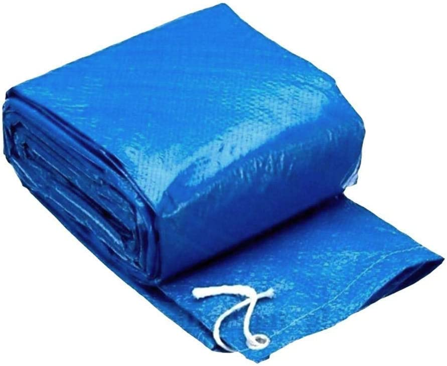 SUNERLORY Cubierta para piscina ligera, fácil de usar, rectangular y limpia, para el hogar. Protección contra el polvo. Protector de lluvia. Protector de espesamiento de poliéster , 260 x 160 cm