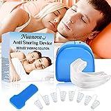 Dilatadores Nasales, Dejar De Roncar, Férulas Dentales, Alivia Apnea del Sueño, 2-en-1 Dispositivos Anti Ronquidos, Ayuda para Dormir Apnea respirar bien