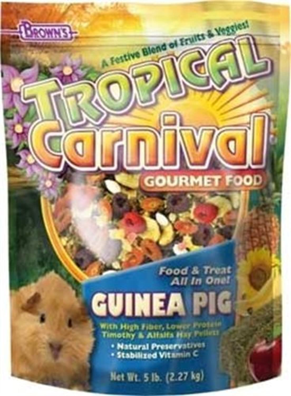 F.M. Brown Tropical Carnival Guinea Pig Food, 20Pound