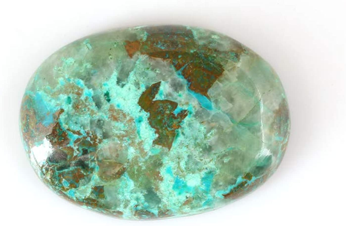 DVG Sale 29.20 Quantity limited excellence Carats 100% Chrysocolla Beautiful Natural Oval Ca