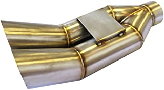 CNT Racing blast pipe exhaust V2 STAINLESS UNIVERSAL MUFFLER Kick up style …