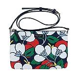 Kate Spade New York Triple Gusset Crossbody Crossbody Dawn Breezy Floral Purse (Blazer Blue Multi)
