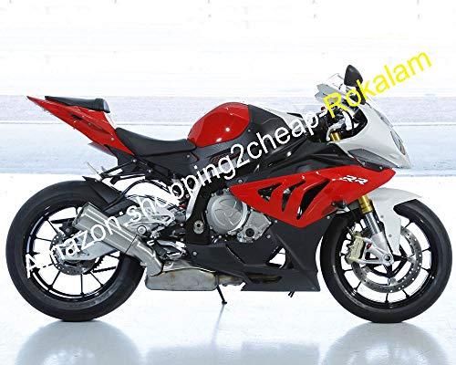 Carénage S1000RR S1000 RR S 1000RR S1000 RR 2010-2014 Kit carrosserie rouge noir blanc (moulage par injection)
