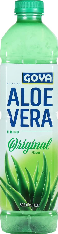 Goya Aloe Vera Over item handling supreme ☆ Drink Original Flavor 50.8 12 Pack Oz of Fl