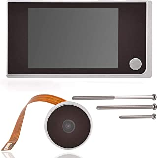 comprar comparacion Zerone Timbre digital TFT de 3,5 pulgadas, pantalla LCD Visor de 120 ° cámara de visión Cámara de seguridad de alta defini...