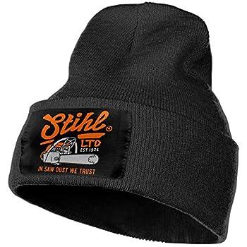 Fvqp S-t-i-h-l Mens&Womens Warm Cozy Knitted Cuffed Skull Cap Black