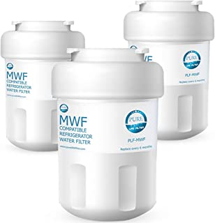Pure Life Filter PLF-MWF Replacement For GE MWF, MWFP, MWFA, GWF, GWFA, SmartWater, Kenmore 9991, 46-9991, 469991 – 3 Pack