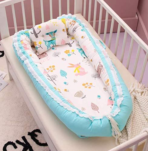 BF-3 ベッドインベッド(防水シーツ付き)枕付き 添い寝ベッド ベビー布団 ベビーベッド ベッドガード (森の友達)
