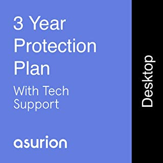 ASURION 3 Year Desktop Computer Protection Plan with Tech Support $450-499.99