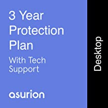 ASURION 3 Year Desktop Computer Protection Plan with Tech Support $600-699.99